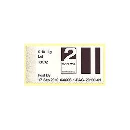 R. UNIDO (2010). Post&Go (2) - 030003 1. Sello nuevo (2 Let)