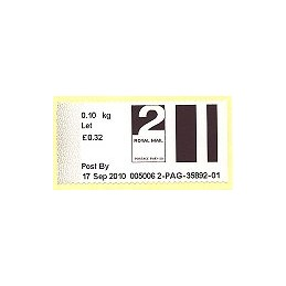 R. UNIDO (2010). Post&Go (2) - 005006 2. Sello nuevo (2 Let)