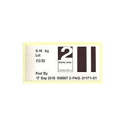 R. UNIDO (2010). Post&Go (2) - 006007 2. Sello nuevo (2 Let)