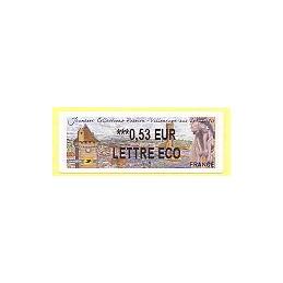 FRANCIA (2010). Jeunesse - Villeneuve Lot. ATM nuevo (0,53 ECO)