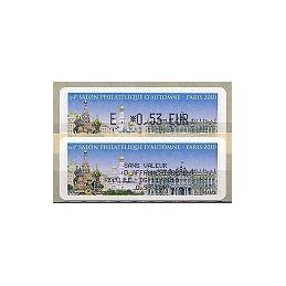 FRANCIA (2010). 64 Salon - Rusia. ATM (E 0,53) + rec. (ES)