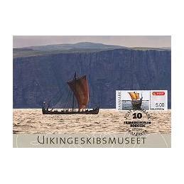 DINAMARCA (2010). Roskilde - Barco vikingo. Tarjeta máxima (7)