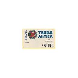 ESPAÑA. 49E. Terra Mitica. EUR-5E. ATM nuevo (0,01)