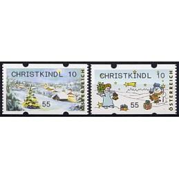 AUSTRIA (2010). CHRISTKINDL 10 (Inv. 3). ATMs nuevos (55)