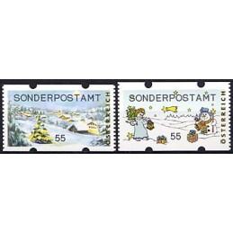 AUSTRIA (2010). SONDERPOSTAMT (Inv. 3). ATMs nuevos (55)