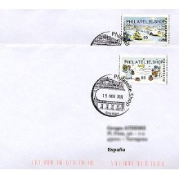 AUSTRIA (2010). PHILATELIE.SHOP (Inv. 3). Sobres P.D. (España)
