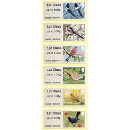 R. UNIDO (2011). Pájaros (2) - 015010 2. ATMs nuevos (1r. día)