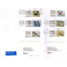 R. UNIDO (2011). Pájaros (2) - 005006 1. Sobres P.D. + rec.