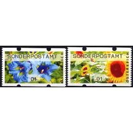 AUSTRIA (2011). SONDERPOSTAMT (Flores 3). ATMs nuevos (01)