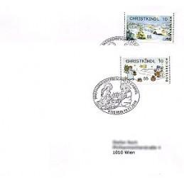 AUSTRIA (2010). CHRISTKINDL 10 (Inv. 3). Sobres P.D.