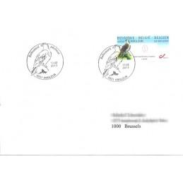 BÉLGICA (2011). Aguila pescadora - Angleur. Sobre primer día