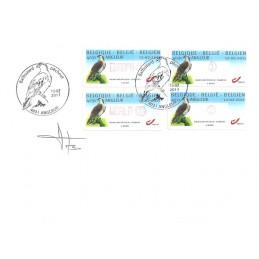 BÉLGICA (2011). Aguila pescadora - Angleur. Sobre P.D. (firma)