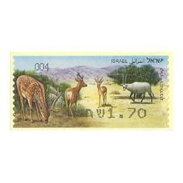 ISRAEL (2011). Mamíferos ungulados - 004. ATM nuevo