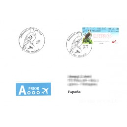 BÉLGICA (2011). Aguila pescadora - Angleur. Sobre P.D. (España)