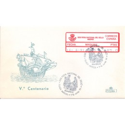 ESPAÑA (1991). 34. XXIII FERIA NACIONAL DEL SELLO - 2805. Sobre