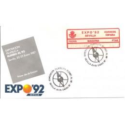 ESPAÑA (1987). 06. EXPO 92 - SEVILLA - 2. Sobre