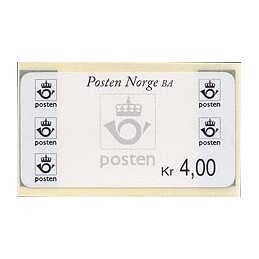 NORUEGA (1999). Emblema postal - Preimpreso. Sello nuevo