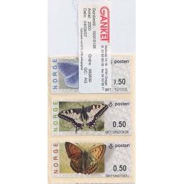 NORUEGA (2007). Mariposas. ATMs, fin de rollo
