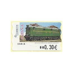 ESPAÑA. 128. Locomotora Estado. LF-5E. ATM nuevo (0,30)