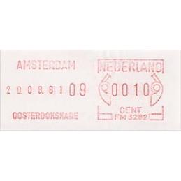 HOLANDA (1980s). Básica - AMSTERDAM OOSTERDOKSKADE. Sello nuevo