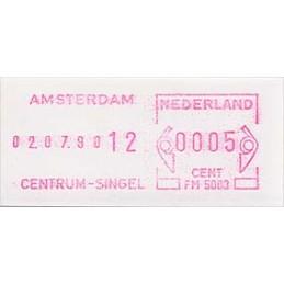 HOLANDA (1980s). Básica - AMSTERDAM CENTRUM-SINGEL. Sello nuevo