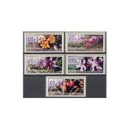 CHIPRE (2002). Flora salvaje. Distr. 004. ATMs nuevos