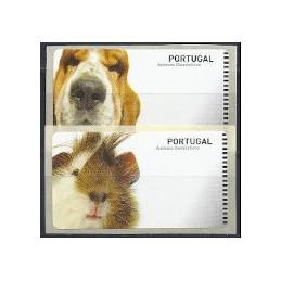 PORTUGAL. Animais. Etiquetas en blanco