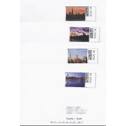 EEUU (2008). 21. Grandes ciudades. Sobres