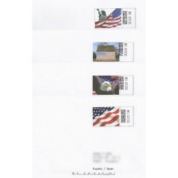 EEUU (2008). 16. Motivos patrióticos. Sobres