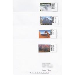 EEUU (2008). 18. Parques nacionales. Sobres