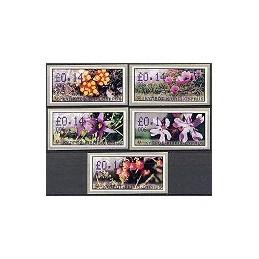 CHIPRE (2002). Flora salvaje. Distr. 006. ATMs nuevos
