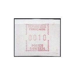 FRANCIA (1985). Emisión Frama - S0145234. ATM nuevo (10)