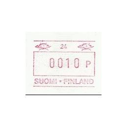 FINLANDIA (1990). Emisión básica (4) - 25. ATM nuevo