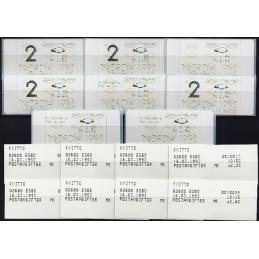FINLANDIA (1992). Dassault-Inter Marketing 5. Serie 8 val. + rec