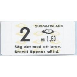 FINLANDIA (1993). Dassault-Inter Marketing 7. ATM nuevo (2)