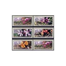 CHIPRE (2002). Flora salvaje. Distr. 003. Serie 6 val.