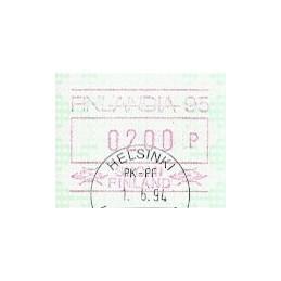 FINLANDIA (1994). Finlandia 95. ATM, matasello