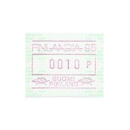 FINLANDIA (1994). Finlandia 95. ATM nuevo