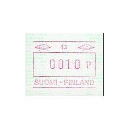 FINLANDIA (1994). Emisión básica (6) - 40. ATM nuevo
