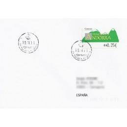 ANDORRA. Montañas verdes- 5. 0280. Sobre a España (2011)