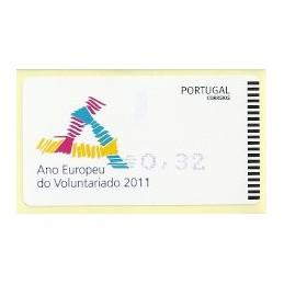PORTUGAL (2011). Voluntariado - AMIEL AZUL. ATM nuevo