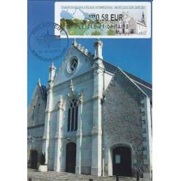 FRANCIA (2011). PHILAOUEST Montlouis. Tarjeta máxima (0,58)