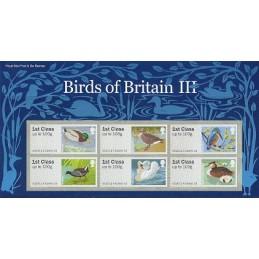 R. UNIDO (2011). Pájaros (3) - 002011 5. Carpeta con los sellos