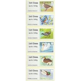 R. UNIDO (2011). Pájaros (3) - 004010 2. ATMs nuevos (1r. dia)