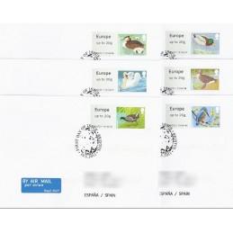 R. UNIDO (2011). Pájaros (3) - 030003 1. Sobres P.D. (España)
