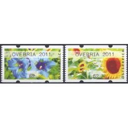 AUSTRIA (2011). ÖVEBRIA 2011 (Flores 3). ATMs nuevos (62)