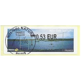 FRANCIA (2011). Nils-Udo NATURE. ATM (0,53), matasello