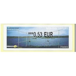 FRANCIA (2011). Nils-Udo NATURE. ATM nuevo (0,53)