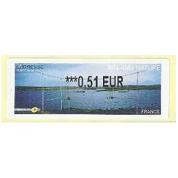 FRANCIA (2011). Nils-Udo NATURE. ATM nuevo (0,51)