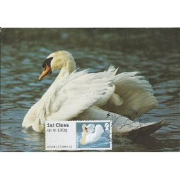 R. UNIDO (2011).. Pájaros (3) - 002011 5. Tarjeta máxima *